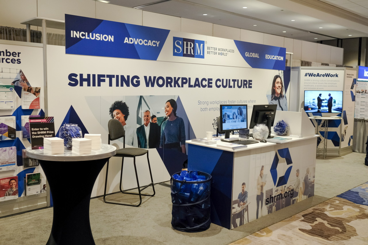 SHRM Booth