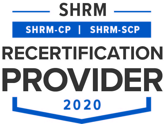SHRM SHRM-CP SHRM-SCP recertification provider 2020